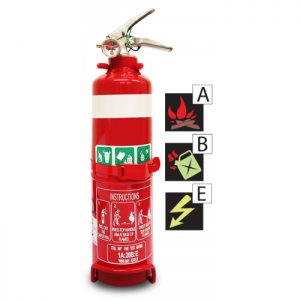 1.0 kg Dry Chemical Powder Fire Extinguisher ABE