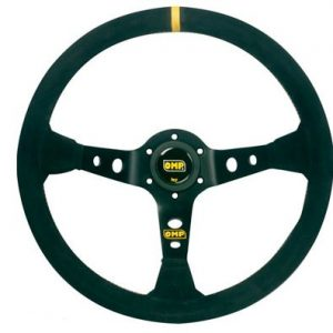 OMP Corsica Suede 350mm Steering Wheel - Deep Dish | OD1954