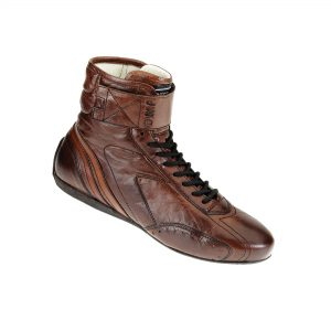 OMP Carrera High Race Shoes dark brown