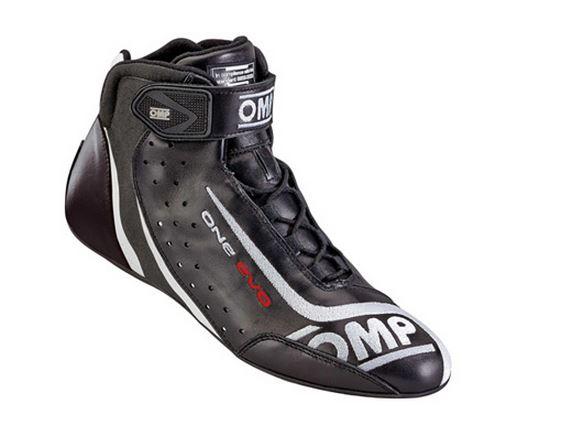 OMP One Evo Race Shoes black/white