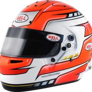 Bell RS7 PRO Falcon Red Race Helmet