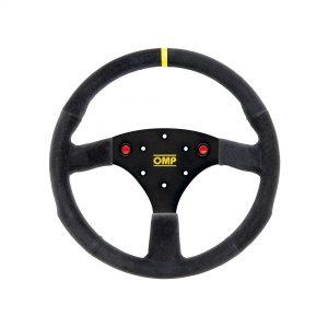 OMP ALU S 320mm Suede Steering Wheel | OD2042