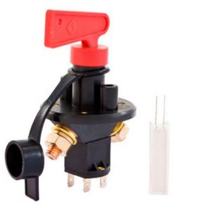 Battery Master Switch - with Field Cut
