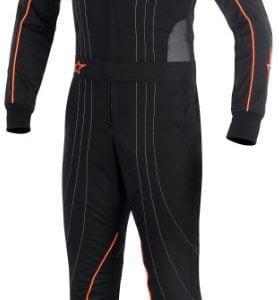 Alpinestars KMX5 Kart Suit - Black-Anthracite-Fluro Orange EU52
