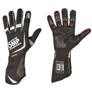 OMP ONE EVO Race Gloves black/white