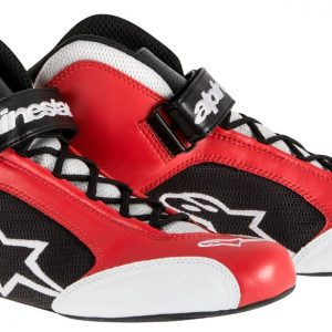 Alpinestars Tech 1-K Kart Shoes - Red-Silver EU39 (US7.0)