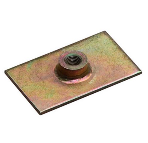 OMP Weld In Harness Bolt Plate   DB418