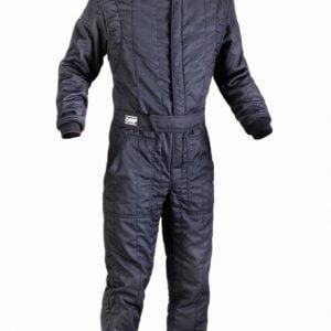 OMP First S Race Suit  - Black EU50
