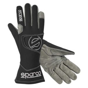 Sparco Hurricane K3 Kart Gloves - BLACK 5 (XXXXS)