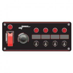 Longacre Flip-up start ignition Switch Panel LON44869