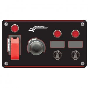 Longacre Flip-up start ignition Switch Panel LON44867