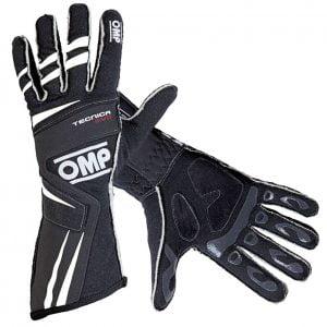 OMP 2018 Tecnica Evo Race Gloves black/white