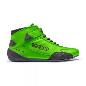 Sparco Cross RB-7 Race Shoes - Green - EU41 (US8.0)