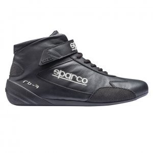 Sparco Cross RB-7 Race Shoes - Black - EU40 (US7.5)