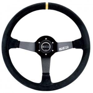 Sparco R368 Steering Wheel - 380mm Semi Dish