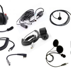 Raceline BYO Radio Pit-Car 2-way Radio System - Helmet Speakers