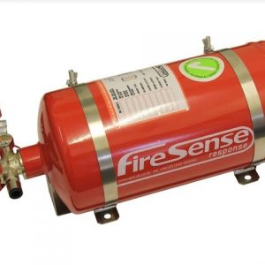 SPA MFM400S - 4 litre Steel Mechanical FIA approved extinguisher system