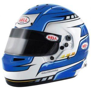 Bell RS7 PRO Falcon Blue Race Helmet