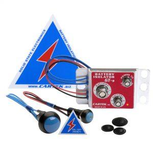 Cartek GT Solid State Battery Isolator Kit | CTKCK-BG-06-B