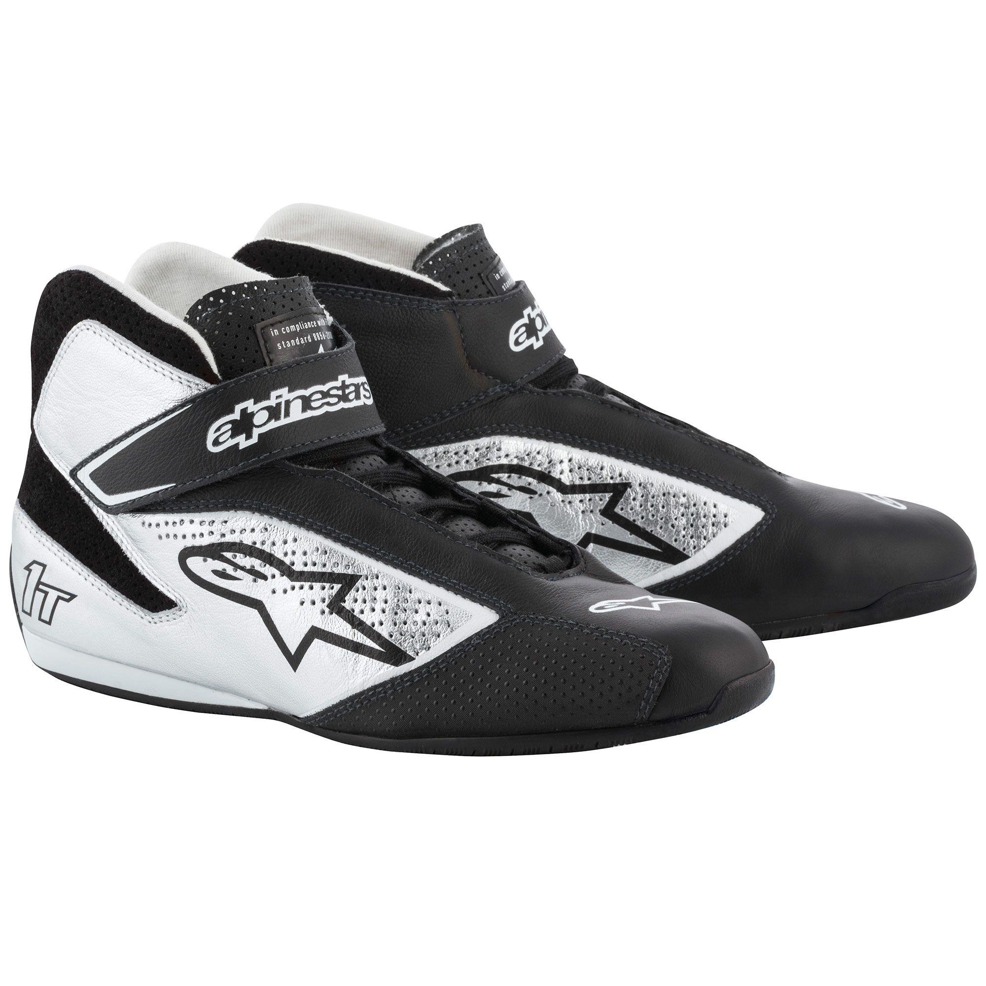Alpinestars Tech 1-T Race Shoes black/silver