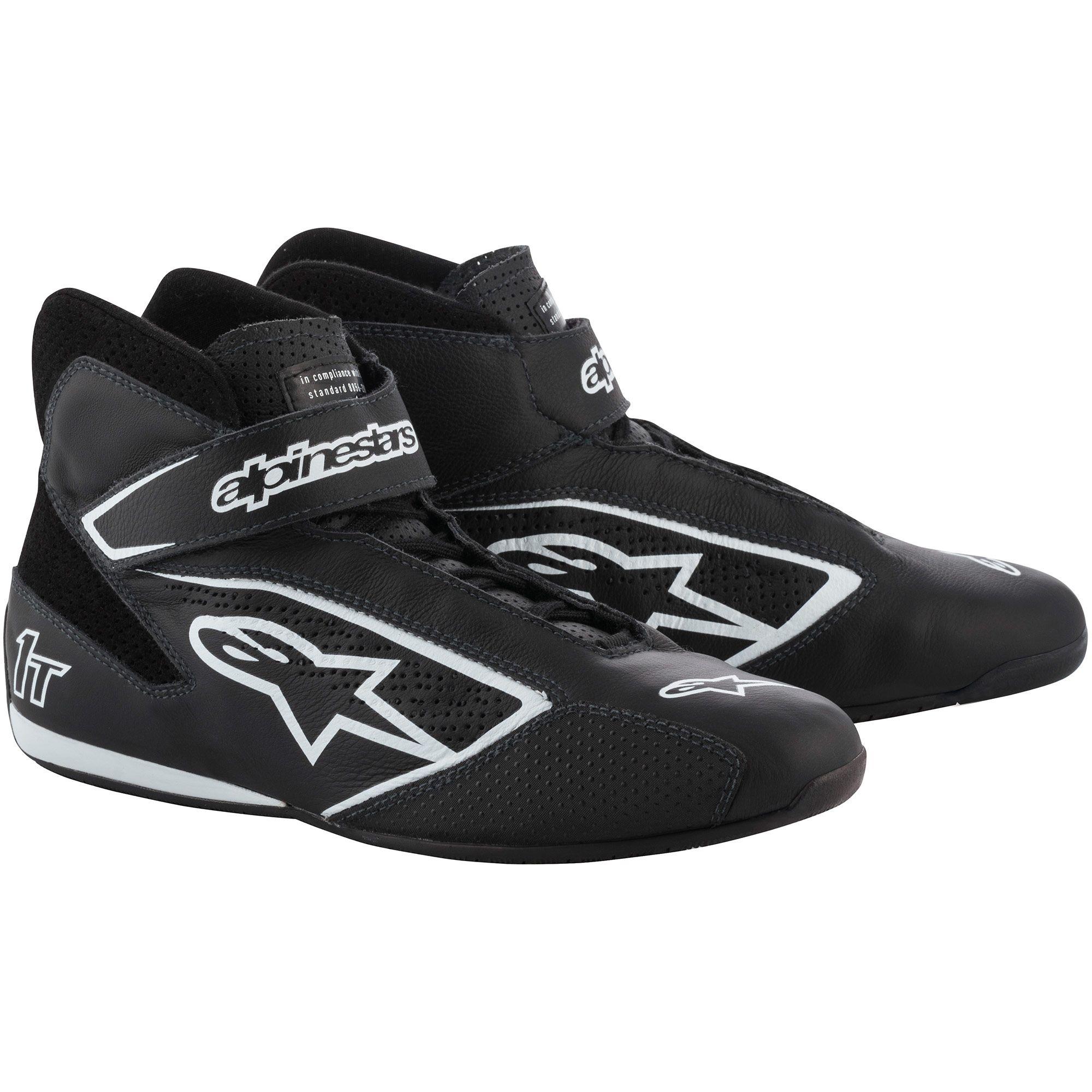 Alpinestars Tech 1-T Race Shoes black/white