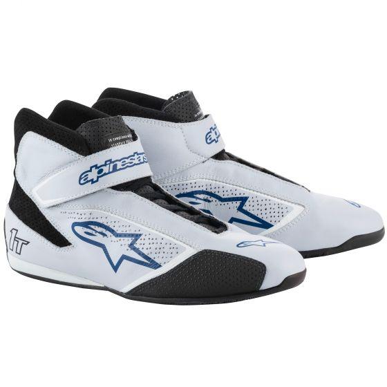 Alpinestars Tech 1-T Race Shoes silver blue