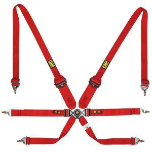 OMP 0205B HSL Hans 6 Point Harness