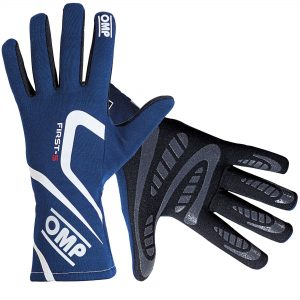 OMP First S Race Gloves BLUE