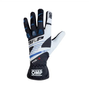 OMP 2019 KS-3 Kart Gloves blue