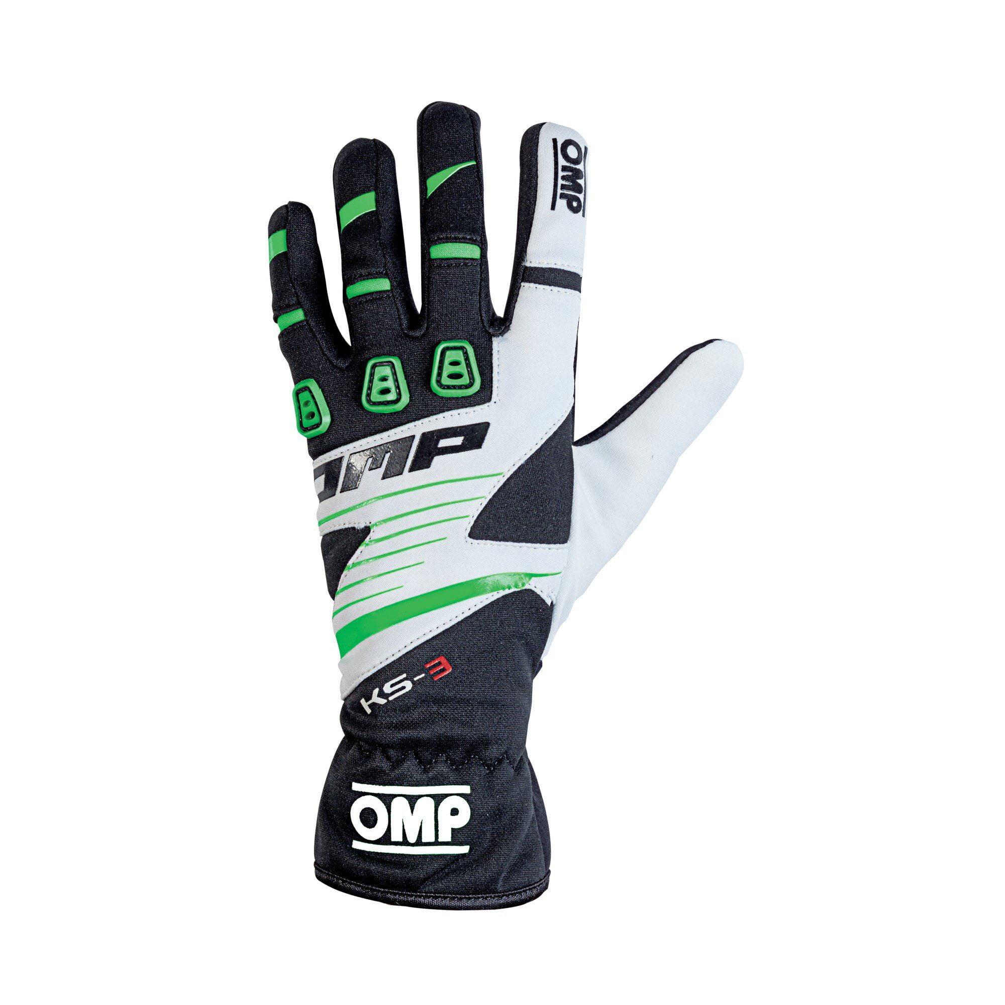 OMP 2019 KS-3 Kart Gloves green