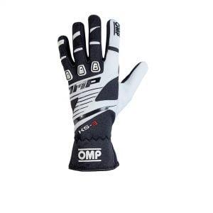 OMP 2019 KS-3 Kart Gloves black