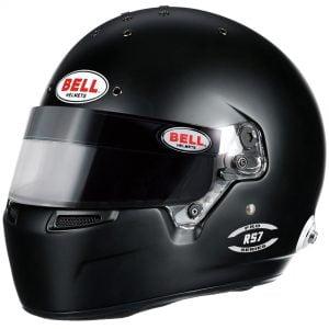 Bell RS7 PRO Race Helmet - Matt Black
