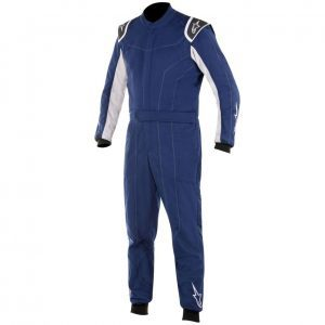 Alpinestars Delta Race Suit - Blue Navy - Silver - EU46