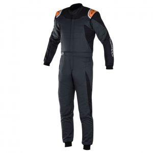 Alpinestars GP Race Suit - Special - Blk-Anthracite-Fluro Orange EU50