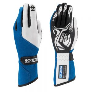 Sparco Force RG-5 Race Gloves - Blue- XL (12)