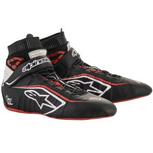 Alpinestars Tech 1-Z V2 Race Boots Black-White-Red
