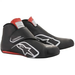 Alpinestars Supermono Race Boots - Black-Red