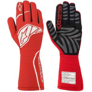Alpinestars Tech 1 Start V2 Race Gloves - Red-White