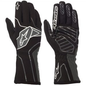 Alpinestars Tech 1-K V2 Kart Gloves - Black-Anthracite