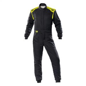 First-S Suit my2020 Anthracite-Fluro Yellow front