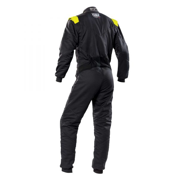 First-S Suit my2020 Anthracite-Fluro Yellow black