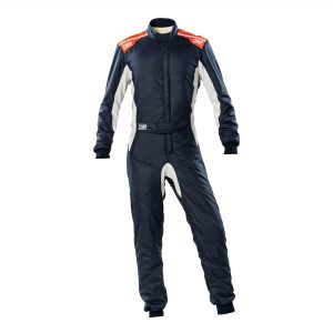 One-S Suit my2020 Navy Blue-Fluro Orange front