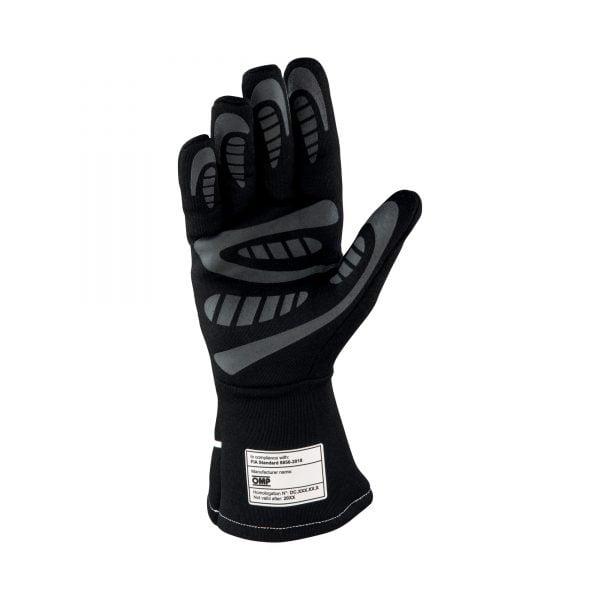 OMP First-S Glove Black back