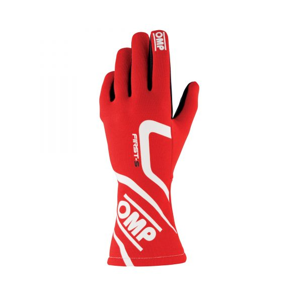 OMP First-S Glove Red front