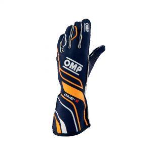 OMP One-S Gloves Fluro Orange front