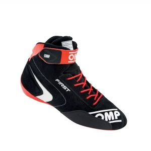 OMP First Shoes Black-Red