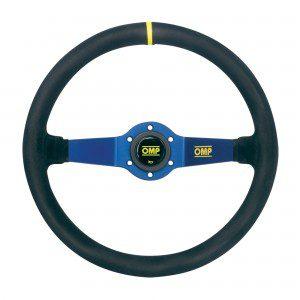 OMP Rally Steering wheel blue OD/1951BN