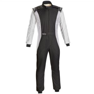 Sparco Competition RS-4.1 Race Suit - Black-White