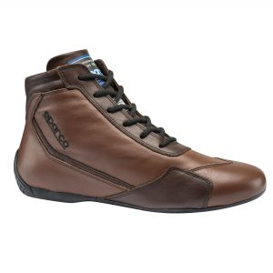 Sparco Slalom RB-3 Classic Race Boots - Brown side 2