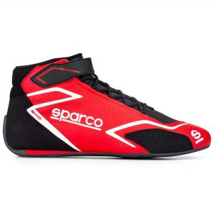 Sparco Skid Race Boots - Red-Black